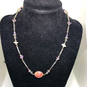 Jewelry - Precious stone bohemian necklace